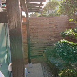 S様邸 フェンス完成。